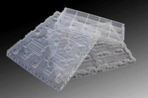 全自动电脑型高速吸塑机加工成型塑料制品图