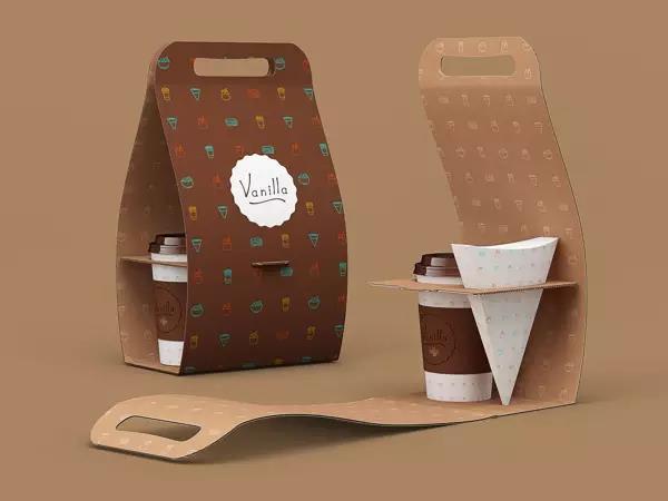 吸塑成型一次性咖啡杯包装,设计点亮产品